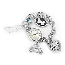 Disney Cinderella Charm Bracelet Watch