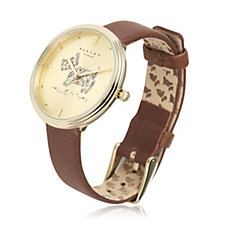 Radley London Ladies Watch Rosemary Gardens Leather Strap