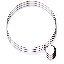 Taxco Traditions Set of 3 20cm Bangles Sterling Silver