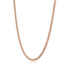 Gold Gallery 9ct Gold 30 Gauge Diamond Cut 60cm Curb Chain