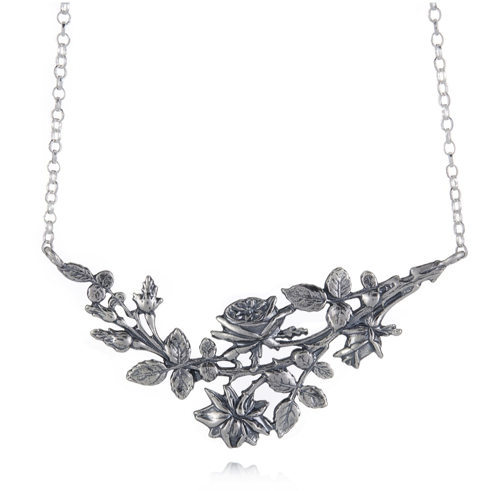 Or Paz Blossom Garden 45cm Necklace Sterling Silver