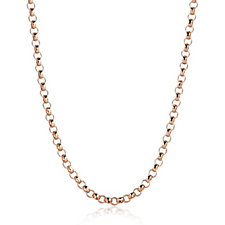 Gold Gallery 9ct Gold 35 Gauge Round Belcher 60cm Chain