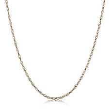 9ct Gold Singapore 51cm Necklace