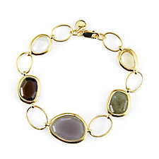K by Kelly Hoppen Gemstone 18cm Bracelet 18ct Vermeil Sterling Silver