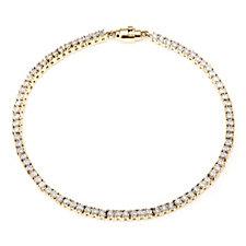 665777 - 0.25ct Diamond Tennis Bracelet w/ Magnetic Clasp 18ct Gold