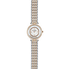 Diamonique 0.9ct tw Mother of Pearl Dial Watch