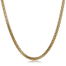 Veronese Popcorn Necklace Magnetic Clasp Sterling Silver