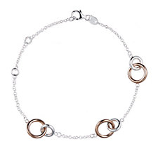 664785 - Links of London Linked 16.5-21cm Bracelet Sterling Silver