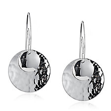 Taxco Traditions Multi Disc Threader Earrings Sterling Silver