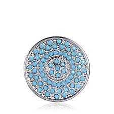 Emozioni Prisma Turquoise Small Coin Insert