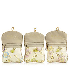Honora Collection Set of 3 Satin Care Pouches