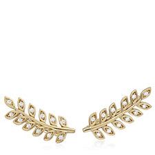 Diamonique 0.1ct Enchanted Earclimber Earrings Sterling Silver