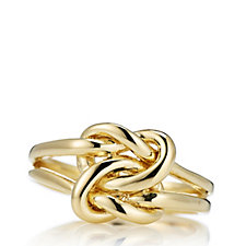 Veronese Classic Knot Ring Sterling Silver