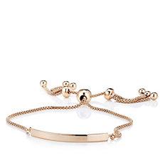 Veronese Glamour Tassel Friendship Bracelet SterlingSilver