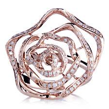 Clogau 9ct Gold Royal Roses Ring