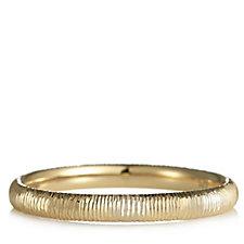9ct Gold Diamond Cut Band Ring