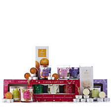 Price's Candles Set of 3 Seasonal 13 Piece Set in Gift Boxes