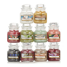 Yankee Candle Scents of Summer 10 Small Jars