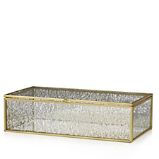 Alison Cork Mercury Glass Trinket Box