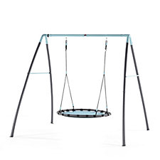 Plum Premium Nest Swing with Mist