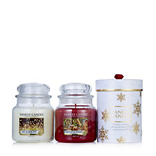 Yankee Candle The Perfect Christmas Set of 2 Medium Jars & Gift Box
