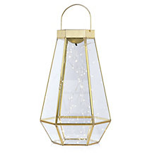 Home Reflections Starry LED Lantern