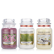 Yankee Candle Set of 3 Pure Essence II Large Jars