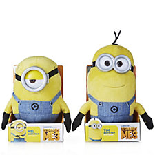 Despicable Me 3 Tim & Mel Minion Plush with Sound