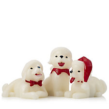 Belle Notte Set of 3 Illuminated Christmas Pets in a Gift Box