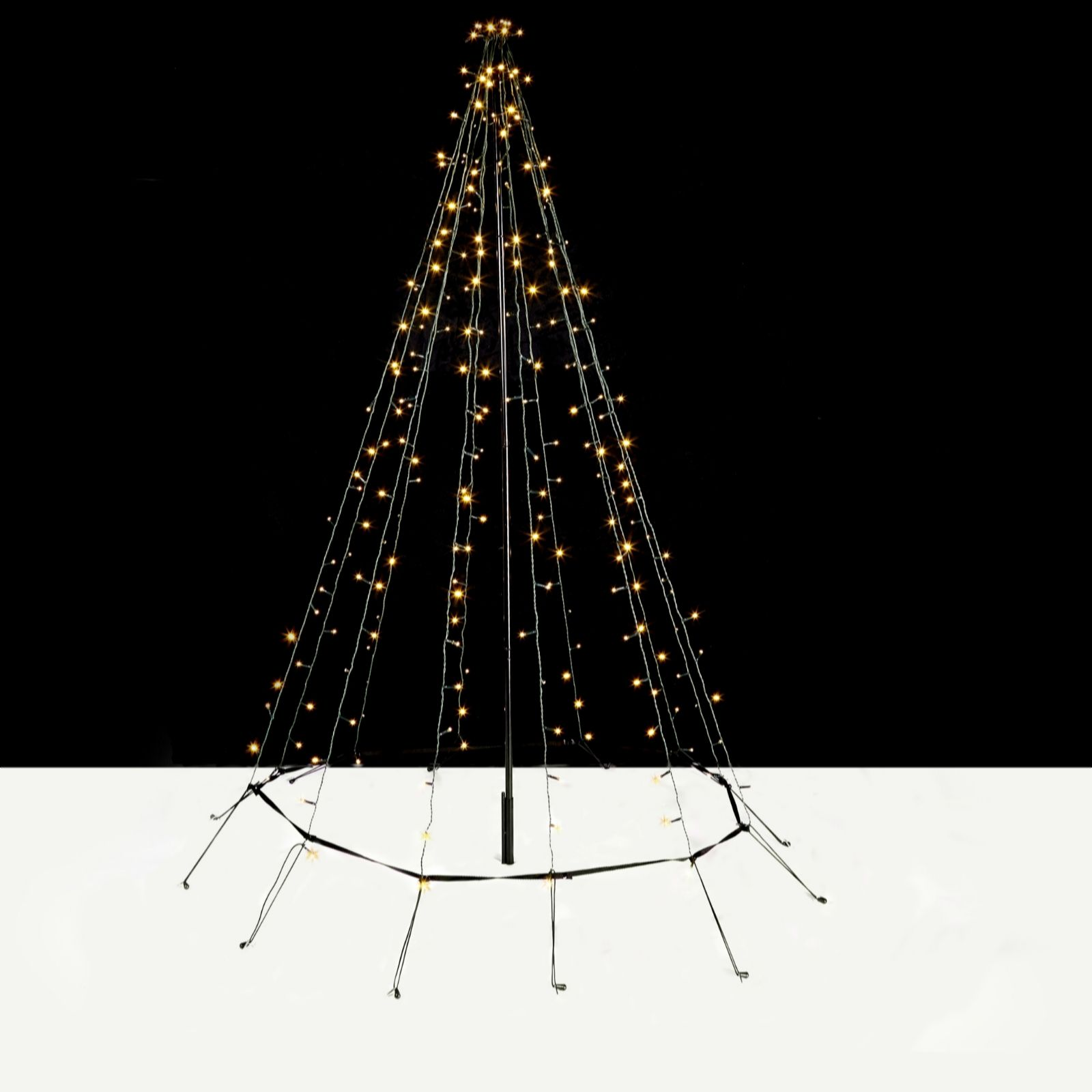 Christmas decorations animated indoor uk - Decorative Indoor Outdoor 2m Led String Light Christmas Tree 704308