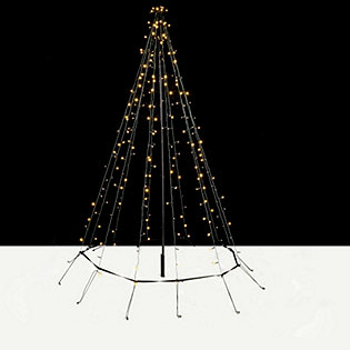 decorative indoor outdoor 2m led string light christmas tree 704308
