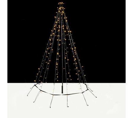 String Christmas Lights On Tree : Decorative Indoor/Outdoor 2m LED String Light Christmas Tree QVCUK.com
