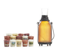 Yankee Candle Glass Lantern with 12 Votives