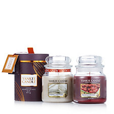 Yankee Candle Set of 2 Medium Jars with Gift Box