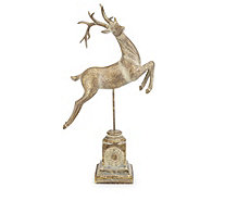 Alison Cork Pure Elegance Decorative Prancing Deer - 705909