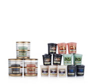 Yankee Candle Copper Votive Collection