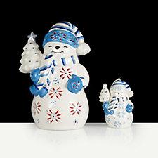 704810 - Mr Christmas Set of 2 Illuminated Festive Characters