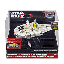 Star Wars Millennium Falcon Night Glow Alarm Clock