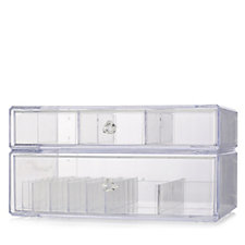 Acrylic Cosmetic Box by Lori Greiner