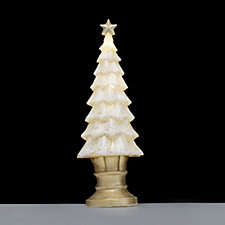 704413 - Bella Notte Translucent LED Christmas Tree Luminary