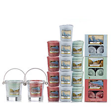 Yankee Candle 53 Piece Coastal Living Tea-light & Votive Collection