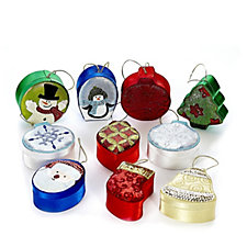 Lindy Bowman Set of 10 Festive Design Sequin Boxes