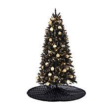 707515 - JM by Julien Macdonald Midnight Hour Black & Gold Christmas Tree