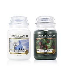 Yankee Candle Set of 2 USA Special These Moments Large Jars