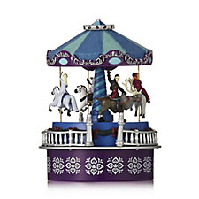 703817 - Mr Christmas Frozen Musical Mini Carousel