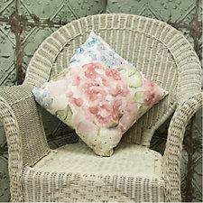 Peony Hydrangea Cushion