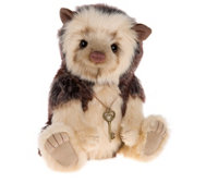 "Charlie Bears Collectable Bristle 10"" Plush Bear"
