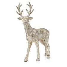 Alison Cork Large Standing Glitter Reindeer