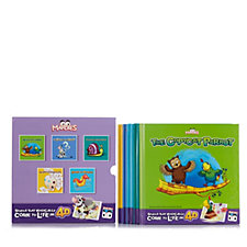 Mardles Set of 5 Interactive Story Books