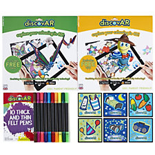 Mardles DiscovAR 18 Piece Interactive Colouring Set